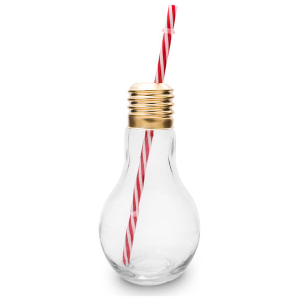 Light bulb glass set of 4 traditional gifts zavvi for Which light bulb to buy