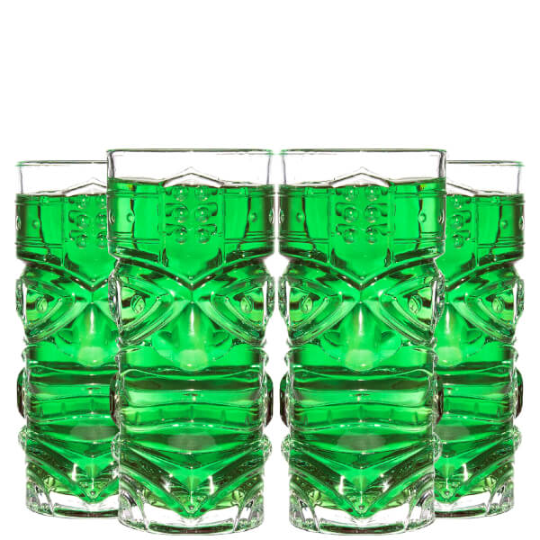 Tiki Glass (Set of 4)