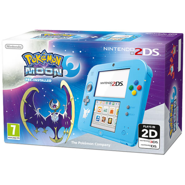 Nintendo 2DS Special Edition: Pokémon Moon