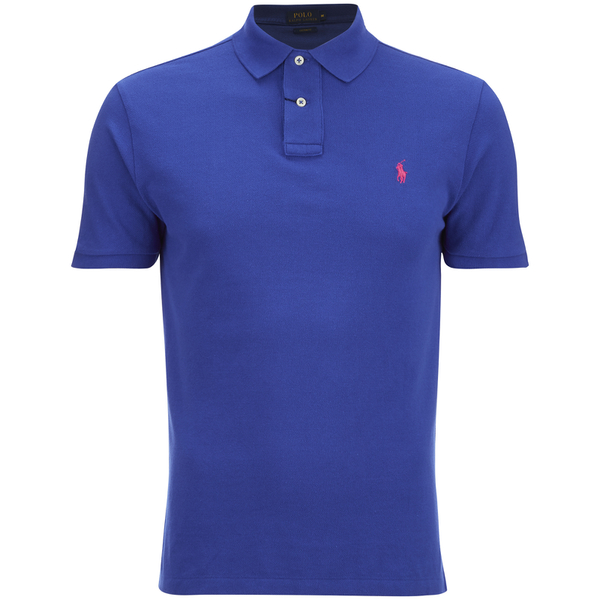 Polo Ralph Lauren Men's Custom Fit Polo Shirt - Bright Royal