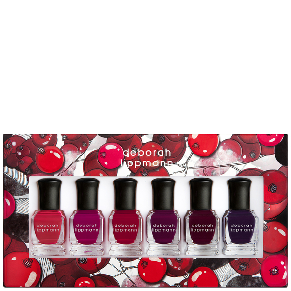 Deborah Lippmann Very Berry Set 6 x 8ml (Worth £54.00)