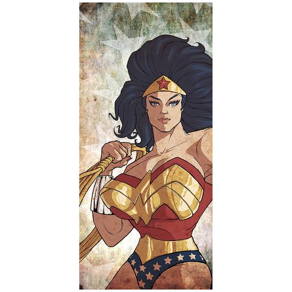 Amazon Queen Wonderwoman Inspired Fine Art Print - 16.5