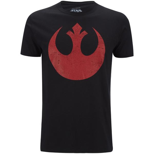 T-Shirt Homme Star Wars Rebel Alliance - Noir