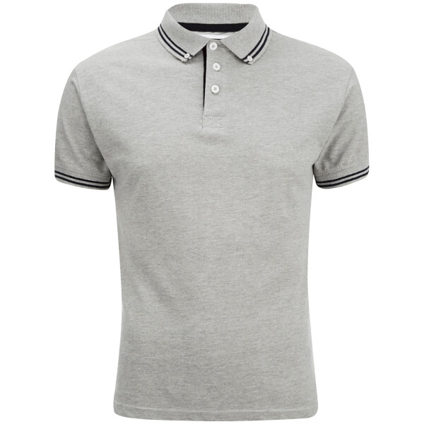 Advocate Men's Ralling Polo Shirt - Light Grey Melange