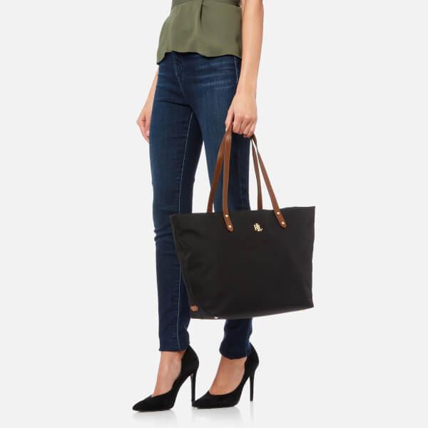 Lauren Ralph Lauren Women s Bainbridge Tote Bag - Black  Image 3 d39ef0f391ab8