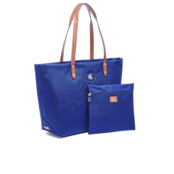 f64fb89d4a63 Lauren Ralph Lauren Women s Bainbridge Tote Bag - Bright Navy  Image 3