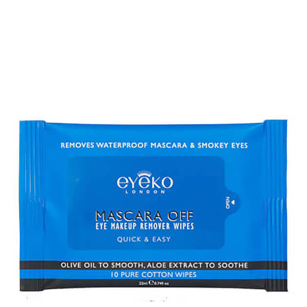 Eyeko Mascara Off Eye Make-Up Remover Wipes
