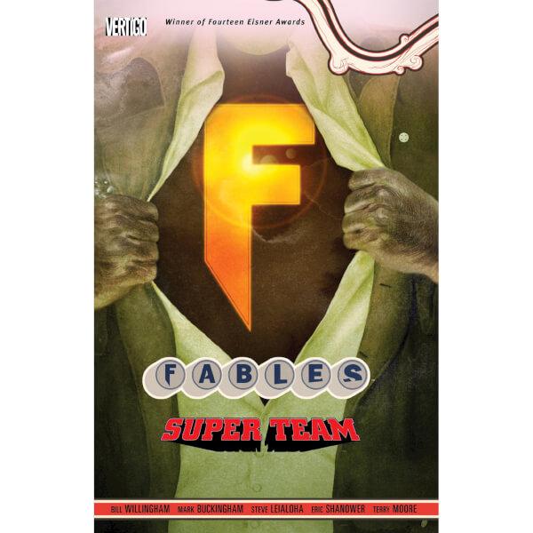 Fables: Super Team - Volume 16 Graphic Novel