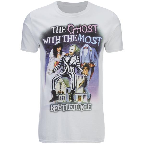 Beetlejuice Men's T-Shirt - White