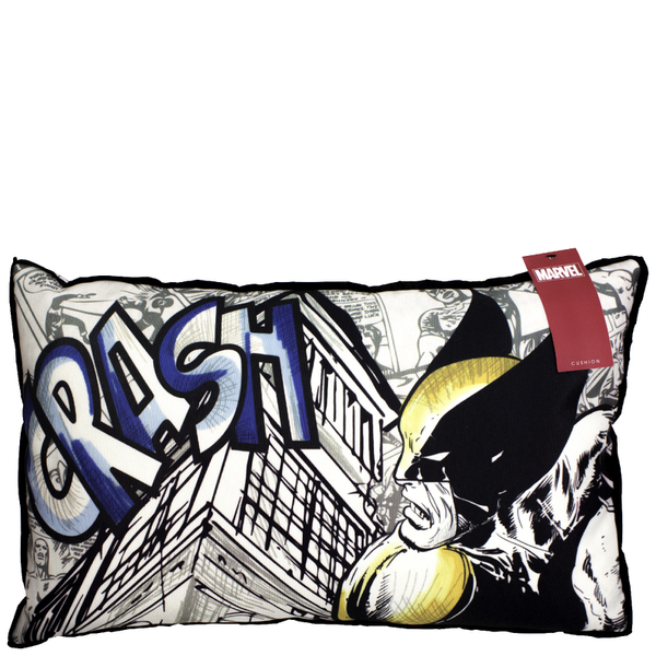 Marvel Comics Action Canvas Cushion - 29 x 48cm