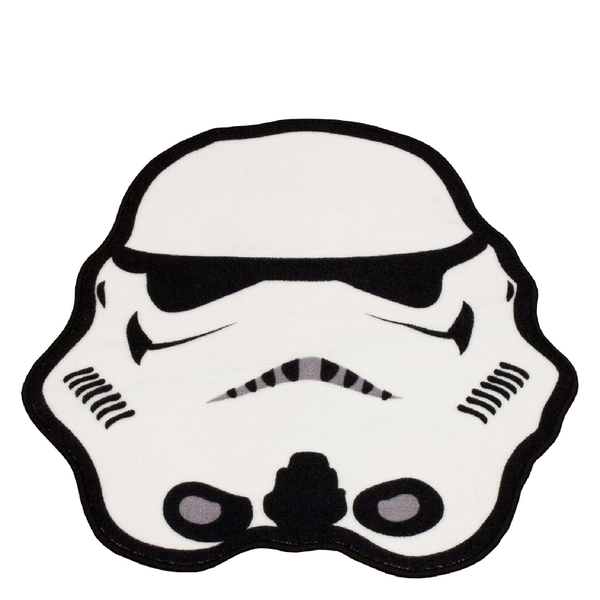 Star Wars Classic Stormtrooper Shaped Rug - 79 x 74cm