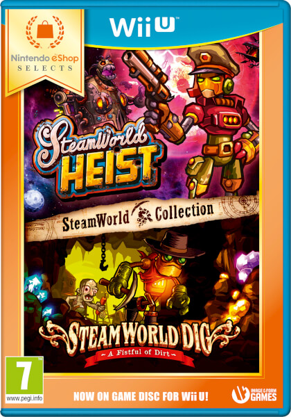 Nintendo eShop Selects SteamWorld Collection