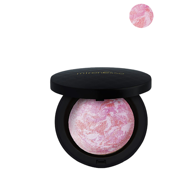 Mirenesse Marble Mineral Blush Powder 12g - Rose Diamond