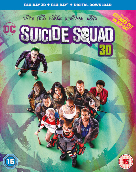 Suicide Squad 3D (Includes 2D Version) (Includes Ultraviolet Copy)