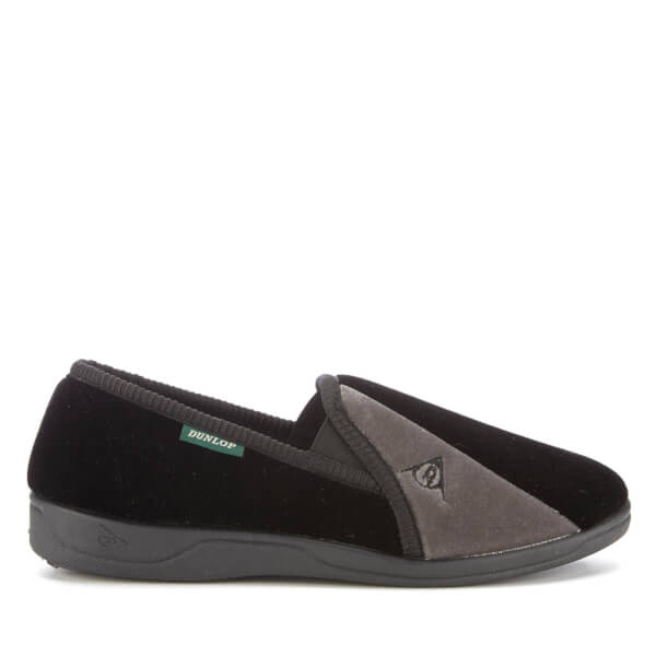 Dunlop Men's Duncan Slippers - Black