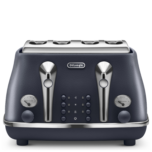 De'Longhi Elements Four Slice Toaster - Blue
