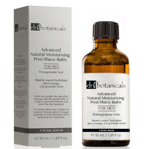 Dr Botanicals Pomegranate Noir Advanced Natural Moisturizing Post-Shave Balm For Men 50ml
