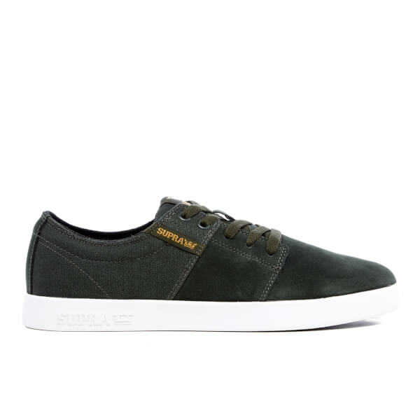 Supra Men's Stacks II Trainers - Dark Olive
