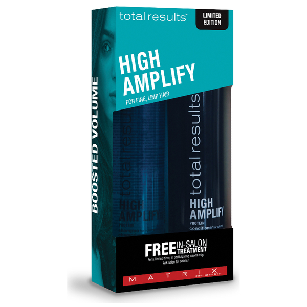 Matrix Total Results High Amplify Treatement Coffret Cadeau Cheveux Fins et Plats