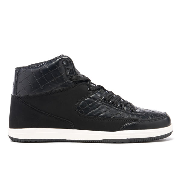 Crosshatch Men's Vonleh High Top Trainers - Black
