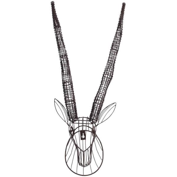 Nkuku Eko Wire Antelope Head