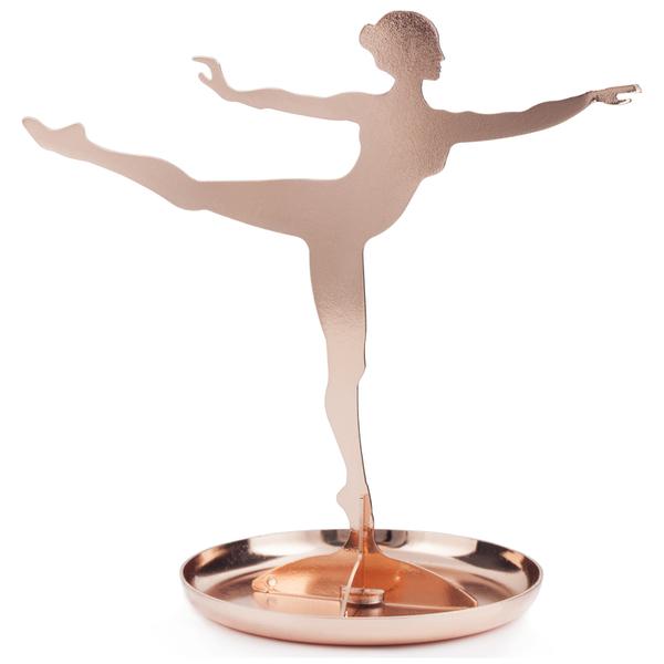Copper Ballerina Jewellery Stand