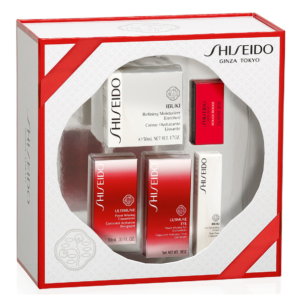 Shiseido Ibuki Refining Moisturizer Enriched Cream Kit (Worth £104.00)