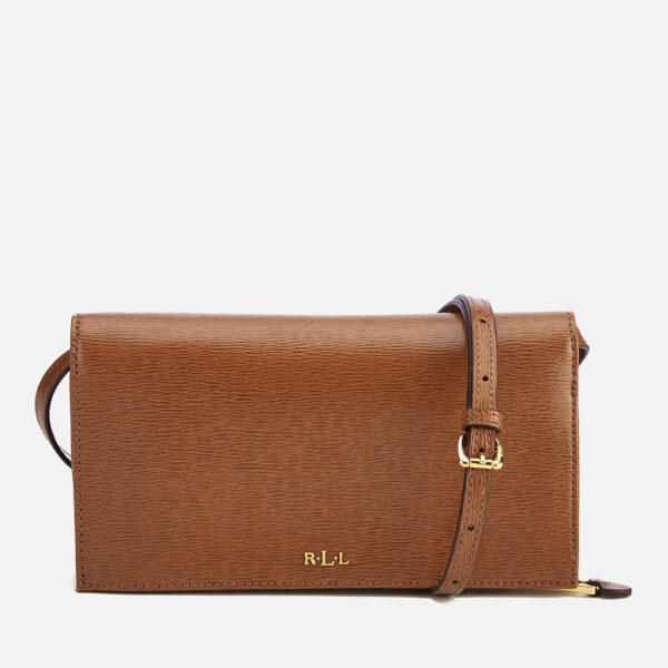 1d13b5443a6a Lauren Ralph Lauren Women s Newbury Multi Cross Body Bag - Tan  Image 1