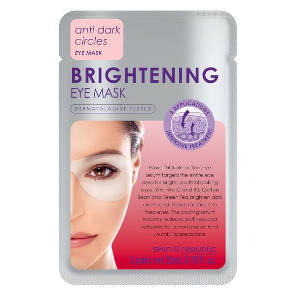 Skin Republic Brightening Eye Mask 18g (3 Pairs)
