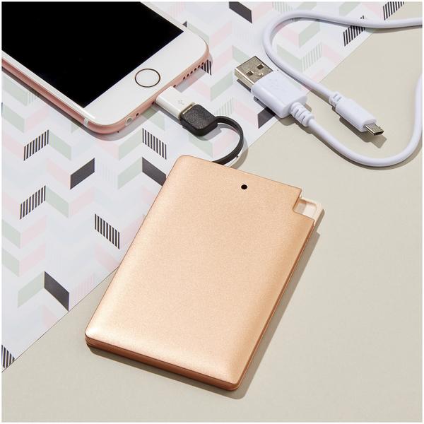 Credit Card Powerbank - Copper