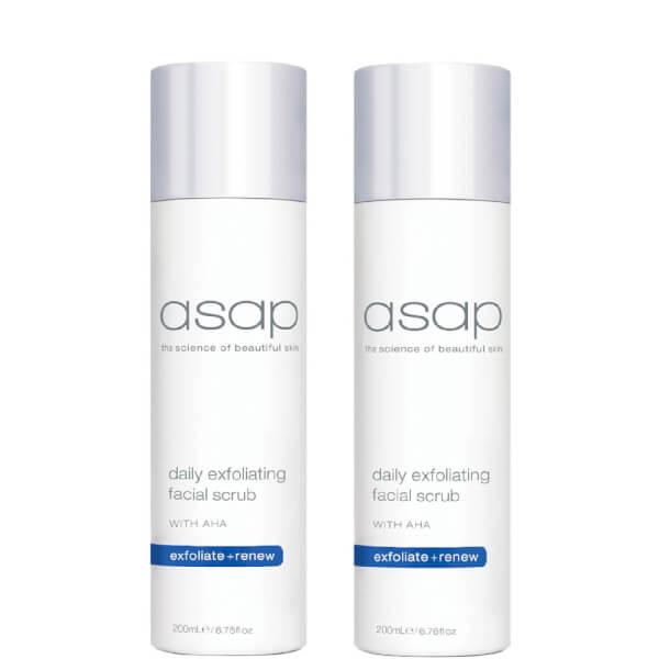 2x Asap Daily Exfoliating Facial Scrub
