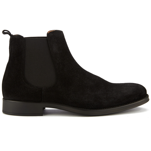 selected homme men 39 s oliver suede chelsea boots black clothing. Black Bedroom Furniture Sets. Home Design Ideas