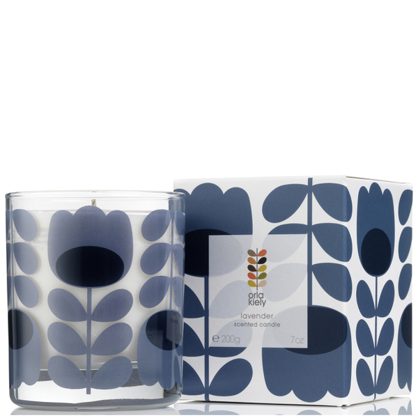 Orla Kiely Scented Candle - Lavender