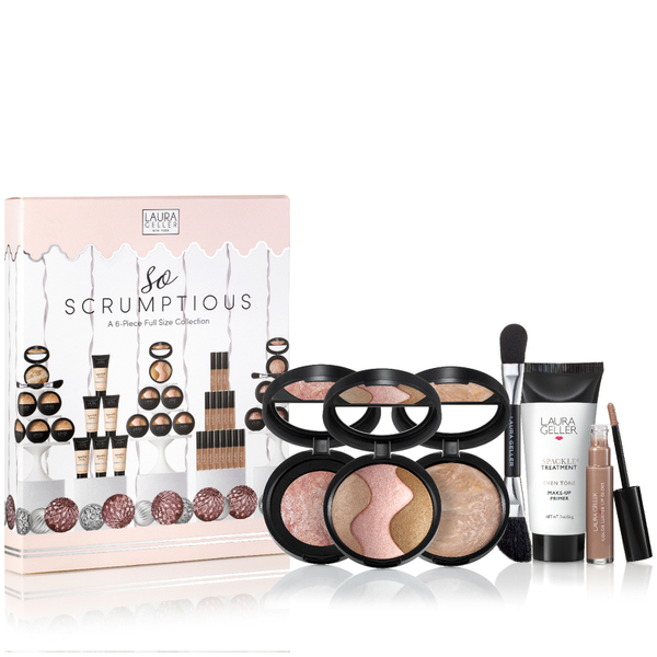 Laura Geller So Scrumptious 6 Piece Beauty Collection Medium (Worth £128)