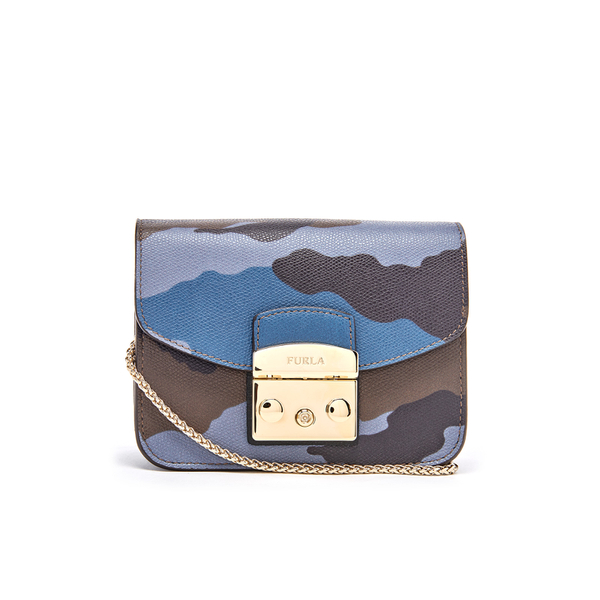 Furla Women's Metropolis Mini Cross Body Bag - Toni Avio and Onyx