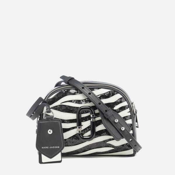 Marc Jacobs Women's Shutter Zebra Shoulder Cross Body Bag - Dove Multi