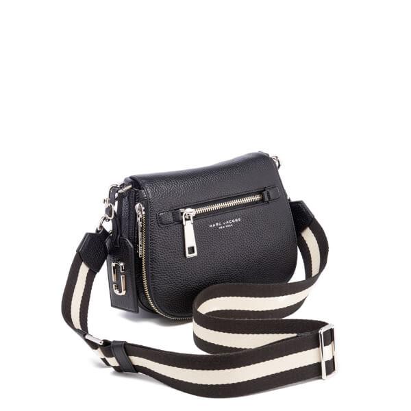 1012eb3216 Marc Jacobs Women's Gotham Small Nomad Sport Strap Saddle Bag - Black:  Image 3