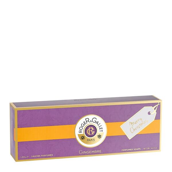 Roger&Gallet Gingembre 3 Soap Coffret