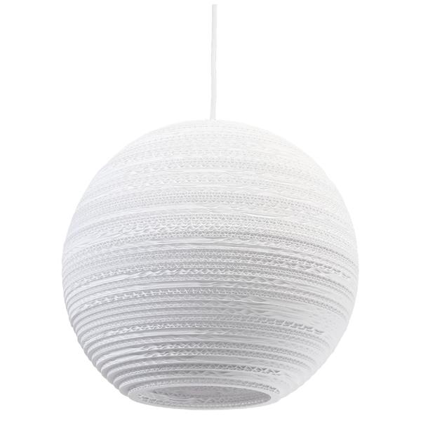 Graypants Moon Pendant - 14 Inch - White