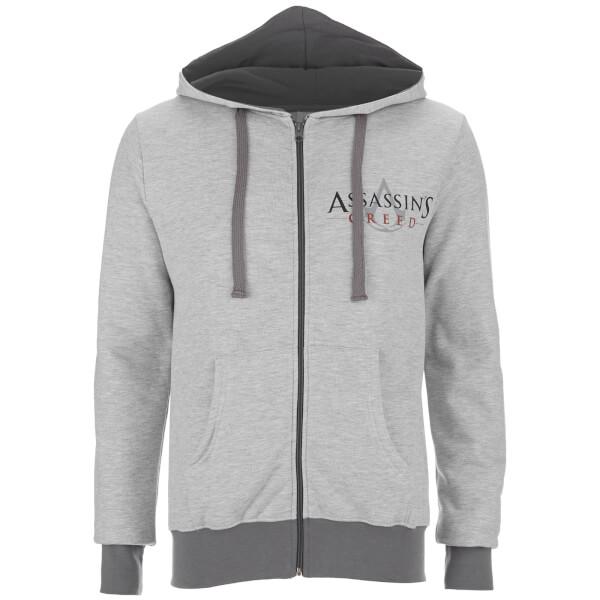Assassin's Creed Men's Logo Zip Hoody - Sport Grey