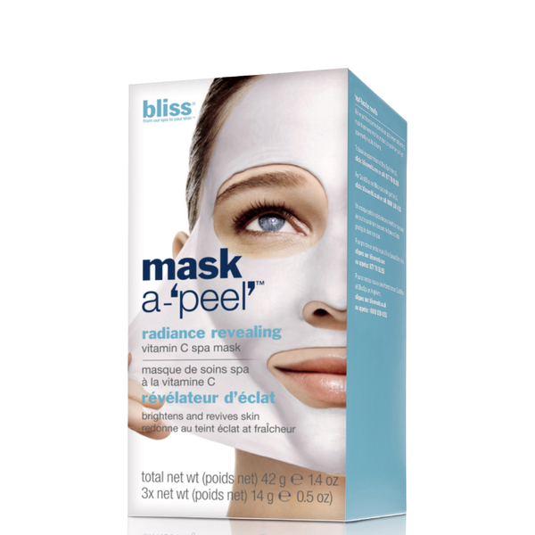 bliss Mask a-'Peel' Radiance Revealing Rubberising Mask
