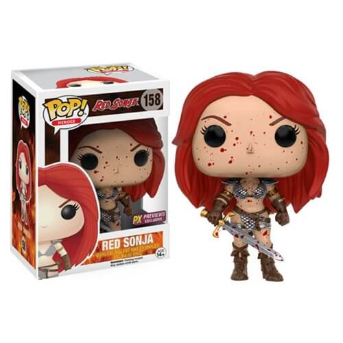 Red Sonja Bloody Pop! Vinyl Figure