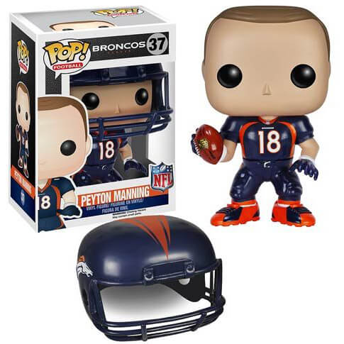 NFL Peyton Manning 2ème Vague Figurine Funko Pop!