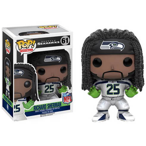 NFL Richard Sherman Wave 3 Pop! Vinyl Figure