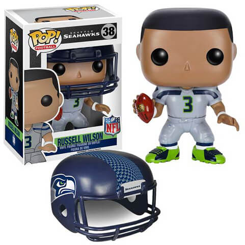 NFL Russell Wilson Wave 2 Pop! Vinyl Figure