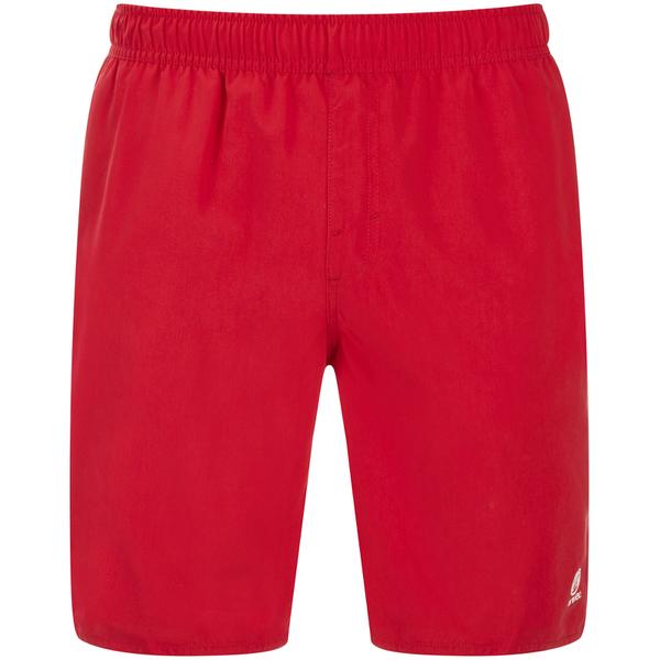 Animal Men's Bahima Board Shorts - Crimson Red