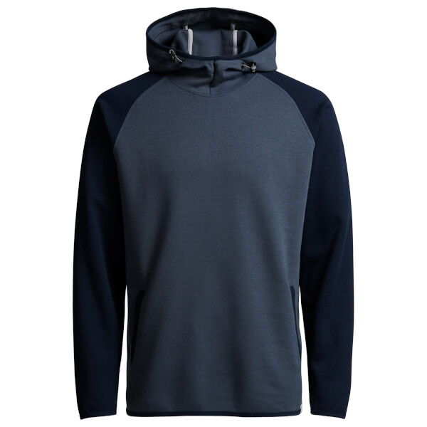 Jack & Jones Core Men's Jason Raglan Hoody - Ombre Blue