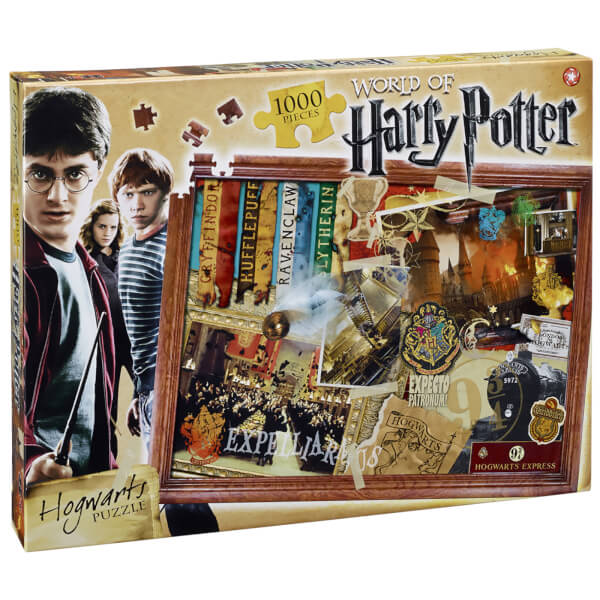 Harry Potter Hogwarts Collector's Puzzle (1000 Pieces)