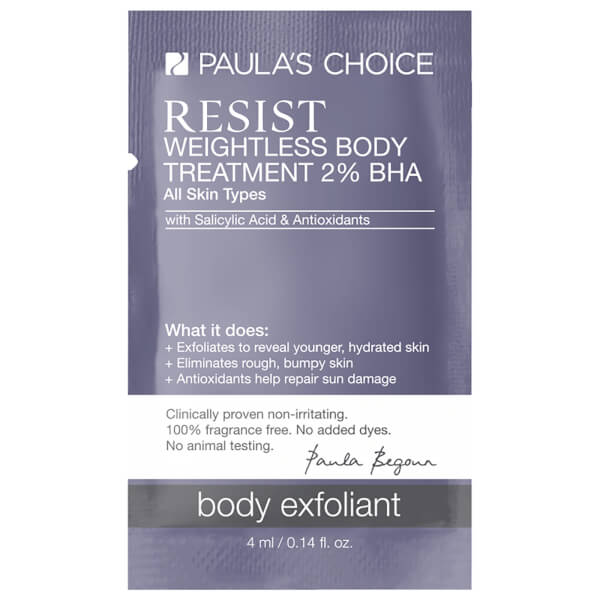 Paula's Choice Resist Weightless Body Treatment Free Gift (Sample)