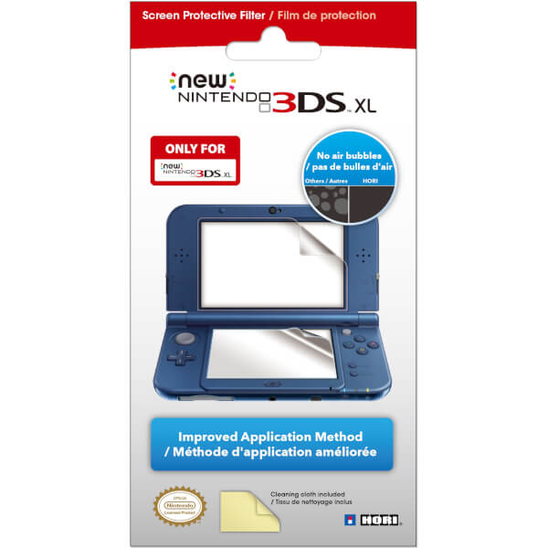 New Nintendo 3DS XL Screen Protective Filter